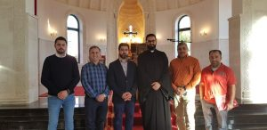 Read more about the article Meeting with Head of Syriac Aramaic Association in Germany