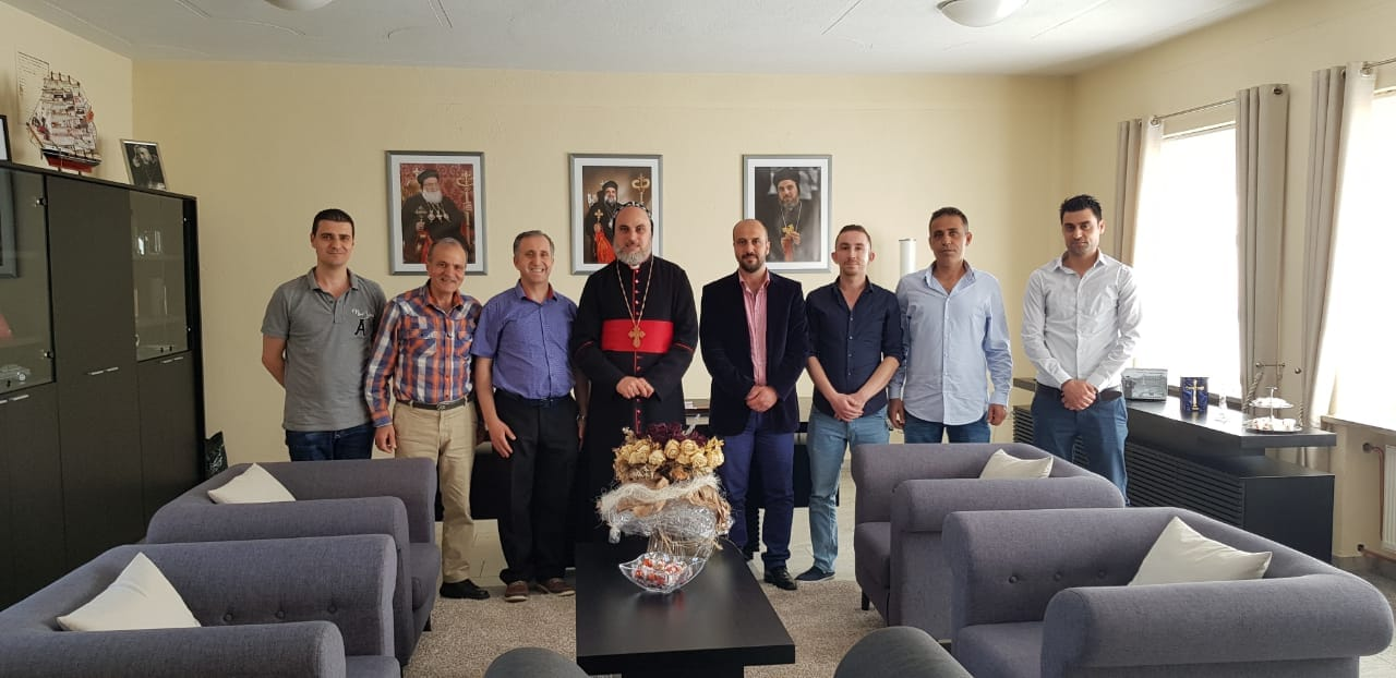 Meeting with Archbishop of Syriac Orthodox church in Germany