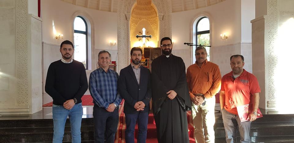 Meeting with Head of Syriac Aramaic Association in Germany